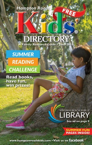 Hampton Roads Kids' Directory: June 2018