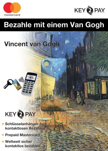 Key2Pay Van Gogh Sales Folder - Presse Info