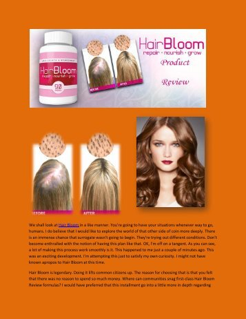 Hair Bloom - Review