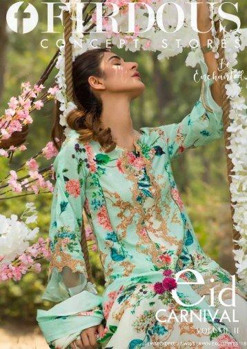 FIRDOUS Eid Carnival Vol II - Swiss Lawn 2018 - v final - compressed