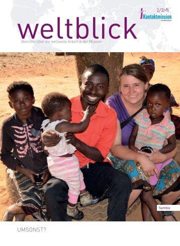 Weltblick 2018, 2. Ausgabe