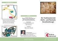 Der Funktionsbereich Kiefer- und Plastische Gesichtschirurgie