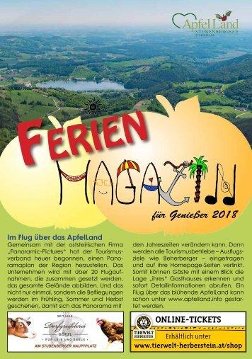 Ferienmagazin 2018 für Homepage