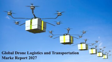 Drone Logistics and Transportation