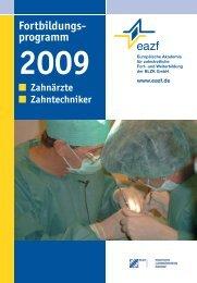 Fortbildungs- programm - eazf