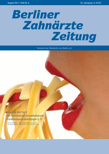 ICX-templant - Verband der Zahnärzte von Berlin
