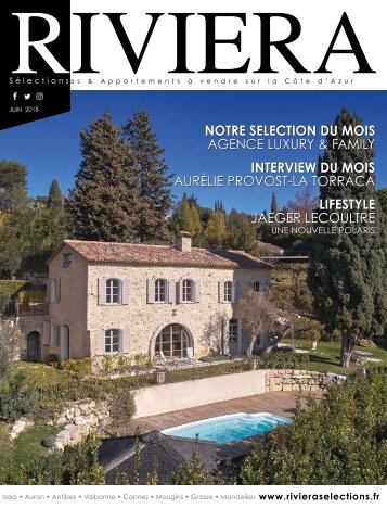 Riviera Sélections - Juin 2018