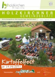 Kartoffelfest - Holzkirchen