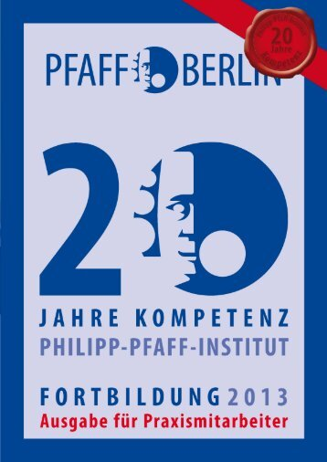 (ZAH) und Zahnmedizinische Fachangestellte (ZFA) - Philipp-Pfaff ...