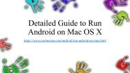 3 Ways to Run Android on Mac OS X