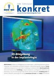 3D-Bildgebung in der Implantologie - BdiZ