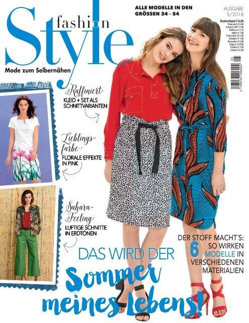 Fashion Style Nr. 5/2018 - Blick ins Heft