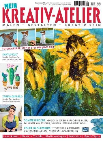 Zeitschrift: Mein Kreativ-Atelier Nr. 99/2018 - Blick ins Heft