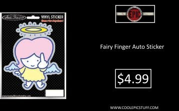 Fairy Finger Auto Sticker