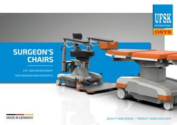 Product Guide Surgeon's Chairs