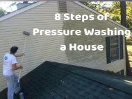 8 Steps of Pressure Washing a House by Peak Pressure Washing