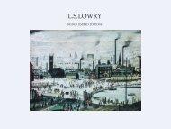 L.S. Lowry Catalogue