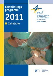 programm 2011 - eazf