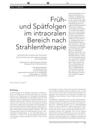 Strahlentherapie 1.pdf - Professor Dr. Andreas Filippi, Fachzahnarzt ...