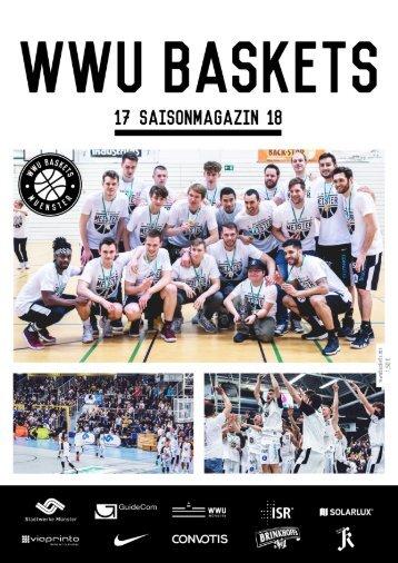 WWU Baskets Jahresmagazin 2017_18