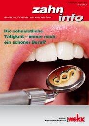 Zahn Info Juni 2012 - Wiener Gebietskrankenkasse
