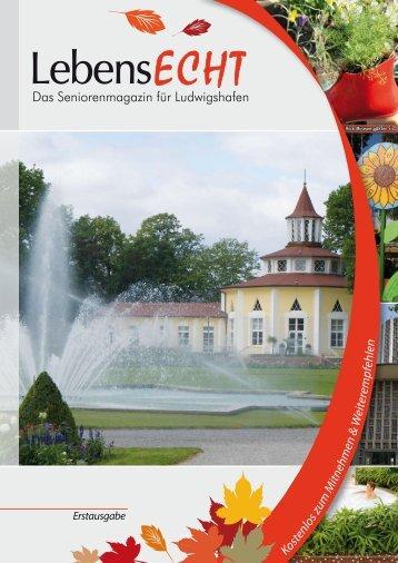 Erstausgabe LebensECHT, Ludwigshafen