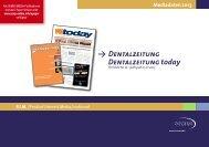 Mediadaten 2013 Y Dentalzeitung Dentalzeitung ... - Oemus Media AG