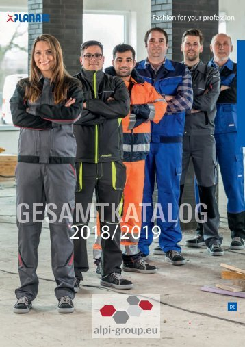 Gesamtkatalog 2018 Alpi Group