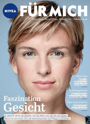NIVEA FÜR MICH Magazin – Sommer 2018