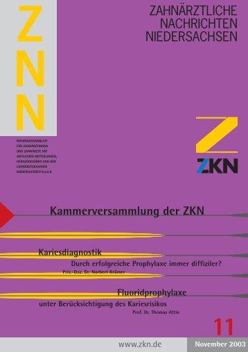 Doppelt bestraft - Zahnärztekammer Niedersachsen