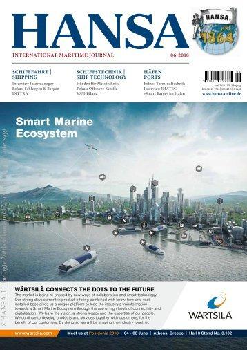 HANSA International Maritime Journal |Juni 2018
