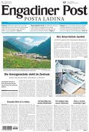Engadiner Post Nr. 067 vom 09. Juni 2012