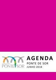 Agenda Ponte de Sor - junho 2018