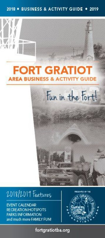 Fort Gratiot Business Association 2018-2019 Business & Activity Guide