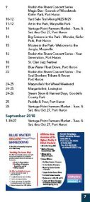 Fort Gratiot Business Association 2018-2019 Business & Activity Guide - Page 7