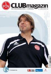 CM_01_SCHALKE.indd - 1. FC Nürnberg