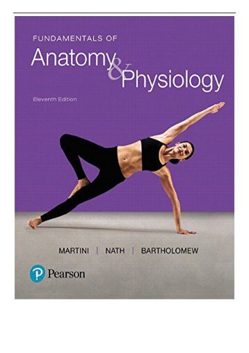 [PDF] Download Fundamentals of Anatomy  Physiology Full Online