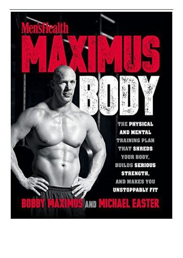 [PDF] Download Men's Health Maximus Body Full pages