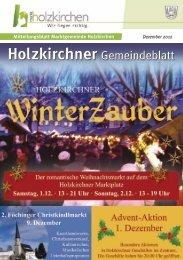 Dezember 2012 - Holzkirchen