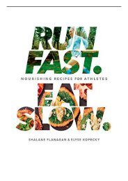 [PDF] Download Run Fast Eat Slow Full Ebook