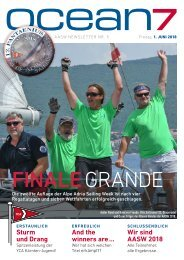 Alpe Adria Sailing Week 2018 – End-Ergebnisse