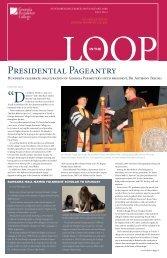 Presidential Pageantry - GPC Home - Georgia Perimeter College