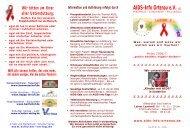 Faltblatt - AIDS-Info Ortenau... Gemeinsam kämpfen...
