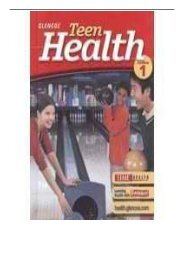 [PDF] Glencoe Teen Health - Course 1 California Edition Full pages