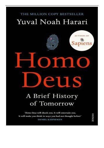 [PDF] Homo Deus A Brief History of Tomorrow Full Ebook