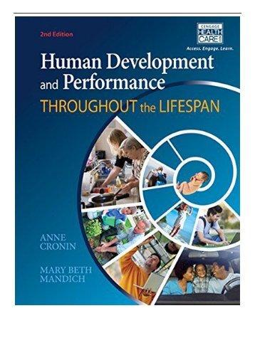 [PDF] Human Development and Performance Throughout the Lifespan Full Books