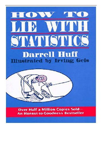 [PDF] How to Lie with Statistics Full ePub
