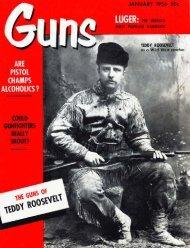 GUNS Magazine January 1956