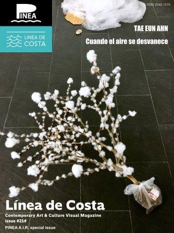 LINEA DE COSTA MAGAZINE issue 21 /  TAE EUN AHN