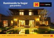 Guia de Iluminación LED Kodak
